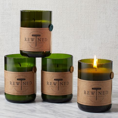 West Elm - rewined candles