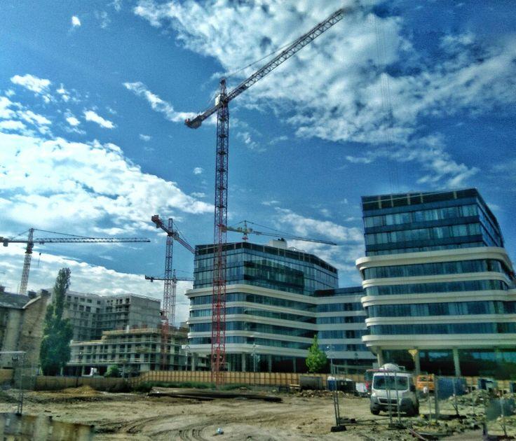 Corvin sétány építése, Budapest