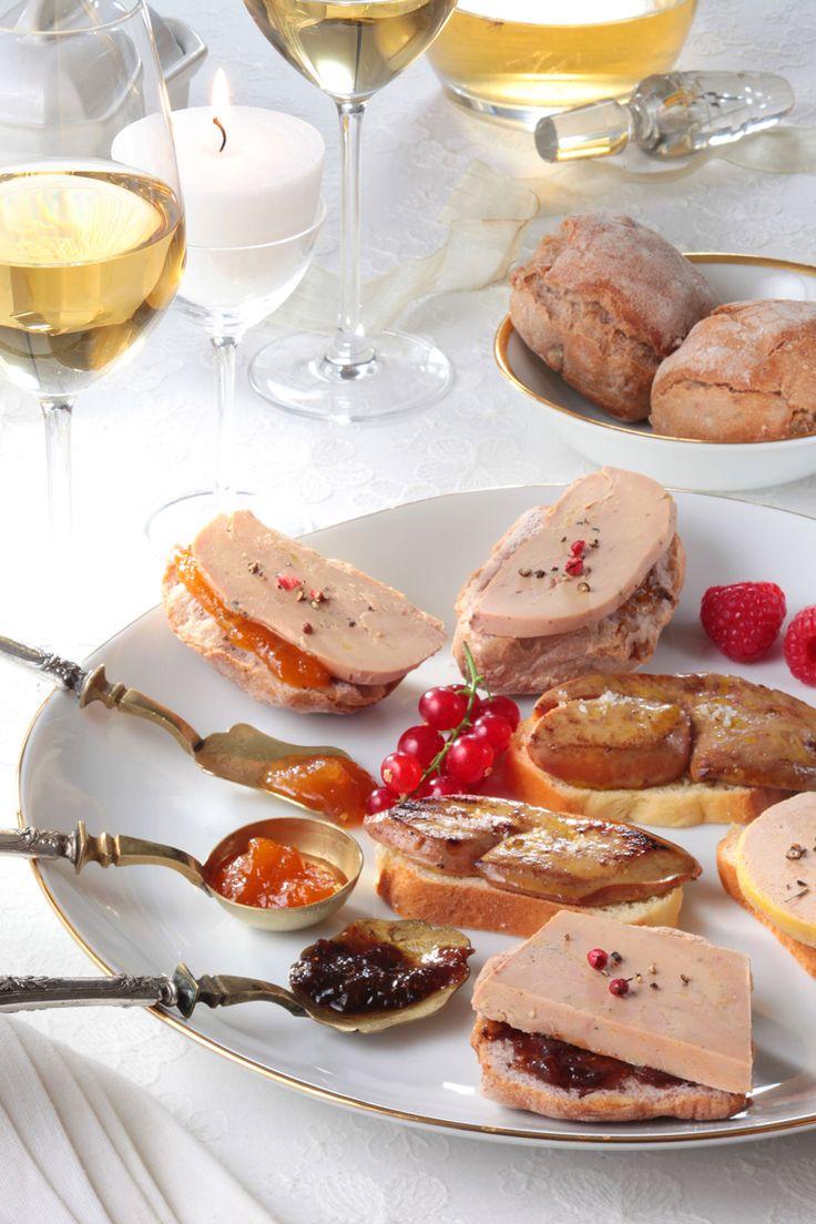 Du Foie Gras bien accompagné... avec des chutneys originaux !  #foiegras #recette #noel #nouvelan
