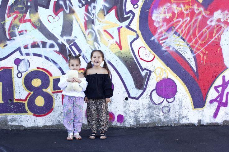 Colour pop!  Laney Peasant Top and Kody Pants.  www.sweetchildofmine.com.au