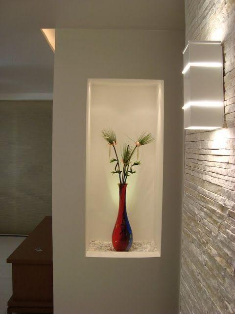 Resultado de imagen para how to decorate a niche in a wall