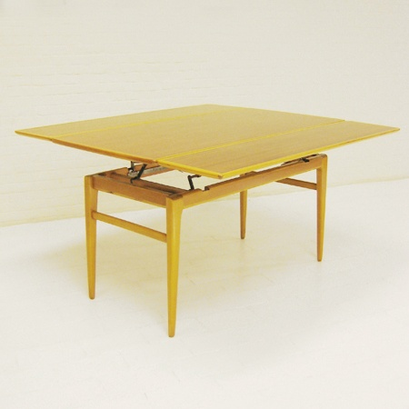 Dining table adjustable height dining table coffee Coffee table to dining table