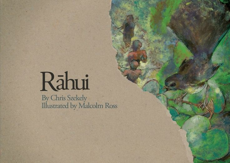 """Rahui"", by Chris Szekely, illustrated by Malcolm Ross - 'One day, when we were swimming, my cousin Thomas went missing. We thought he had gone home.'"