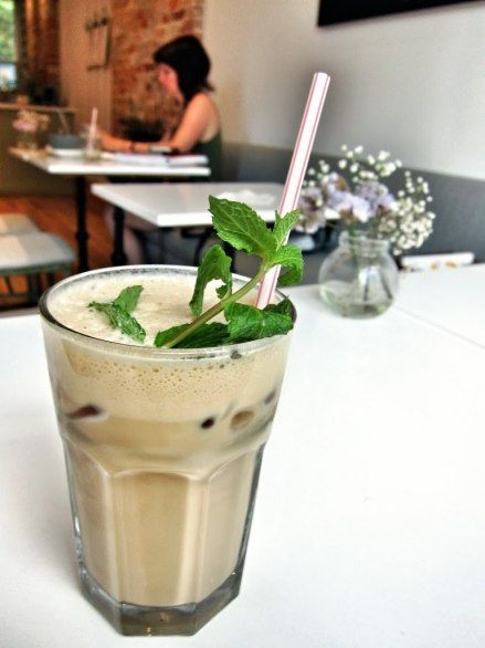 "Fika Cafe iced coffee -- called ""the best iced coffee in Toronto"""
