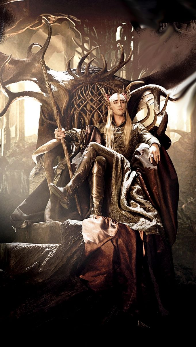 edit hq Lee Pace dos Thranduil elvenking Desolation of Smaug The  Hobbit
