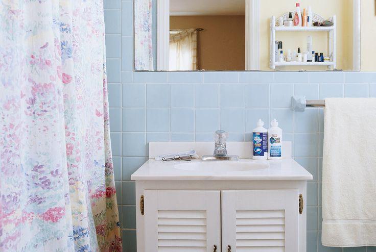 Tile, Walls, Ceiling | Deep-Clean Your Bathroom in 7 Steps | Real Simple