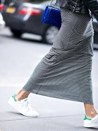 """Résultat de recherche d'images pour """"robe  basket blanche"""""""