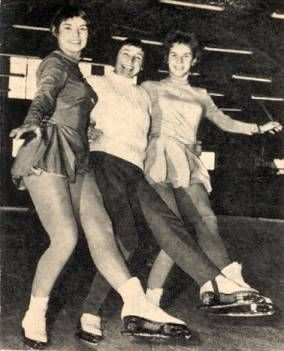 The Owen Family Loved Figure Skating: Laurence Owen, Maribel Vinson Owen, and Marbiel Y. Owen.  Sadly, they all died in the plane crash that took the 1961 Figure Skating team.