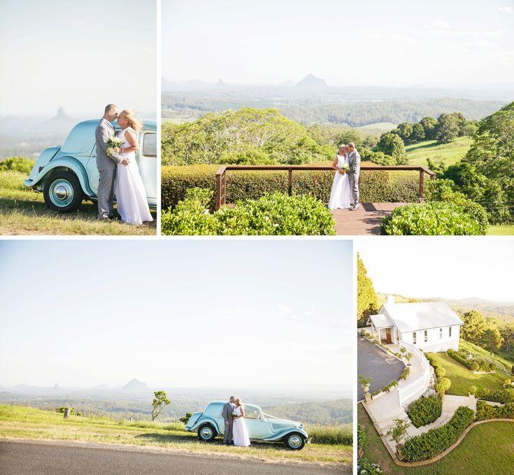 Weddings at Tiffany's Maleny Wedding Photographers - Stunning views