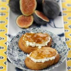 Fig and Goat Cheese Appetizers