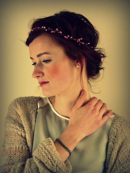 "Blumenkranz, Elfenkrone, Fairy Crown ""Corylus"" von MilseBilse auf DaWanda.com"