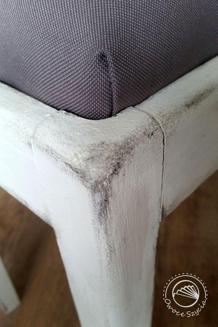 renovated & aged chair detail  @meblovekreacje