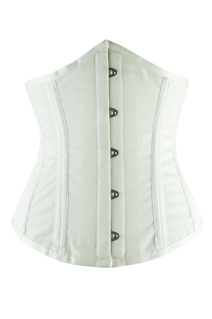 Brand New Waist Training from Vollers Corsets Majestic - Ivory Satin