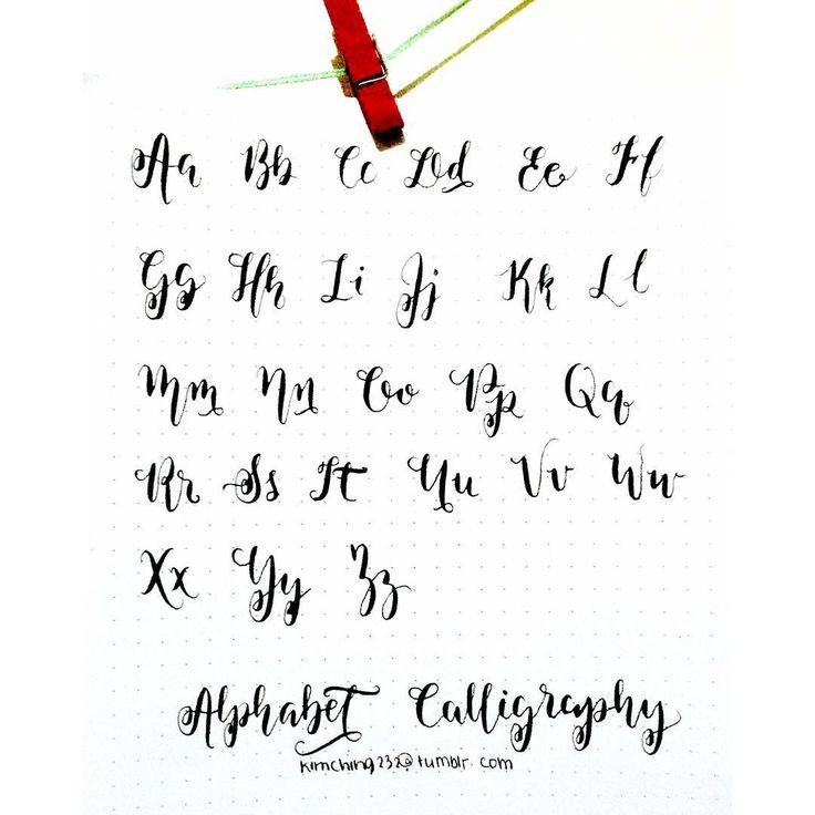 Best 25+ Cursive fonts alphabet ideas on Pinterest