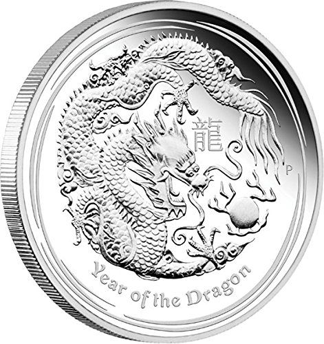 2012 AU Modern Commemorative DRAGON Lunar Year Series II 5 Oz Silver Proof Coin 8$ Australia 2012 Dollar Perfect Uncirculated *** Continue to the product at the image link.