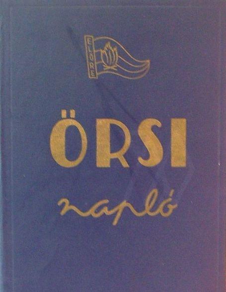 Örsi napló - Minden évben én vezettem a naplót a Pillangó őrsben :))