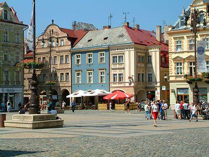 Liberec city centre