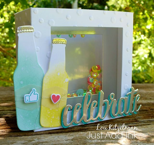 With a bow on top: Just Add Ink #392 blog hop - Just Add Something New