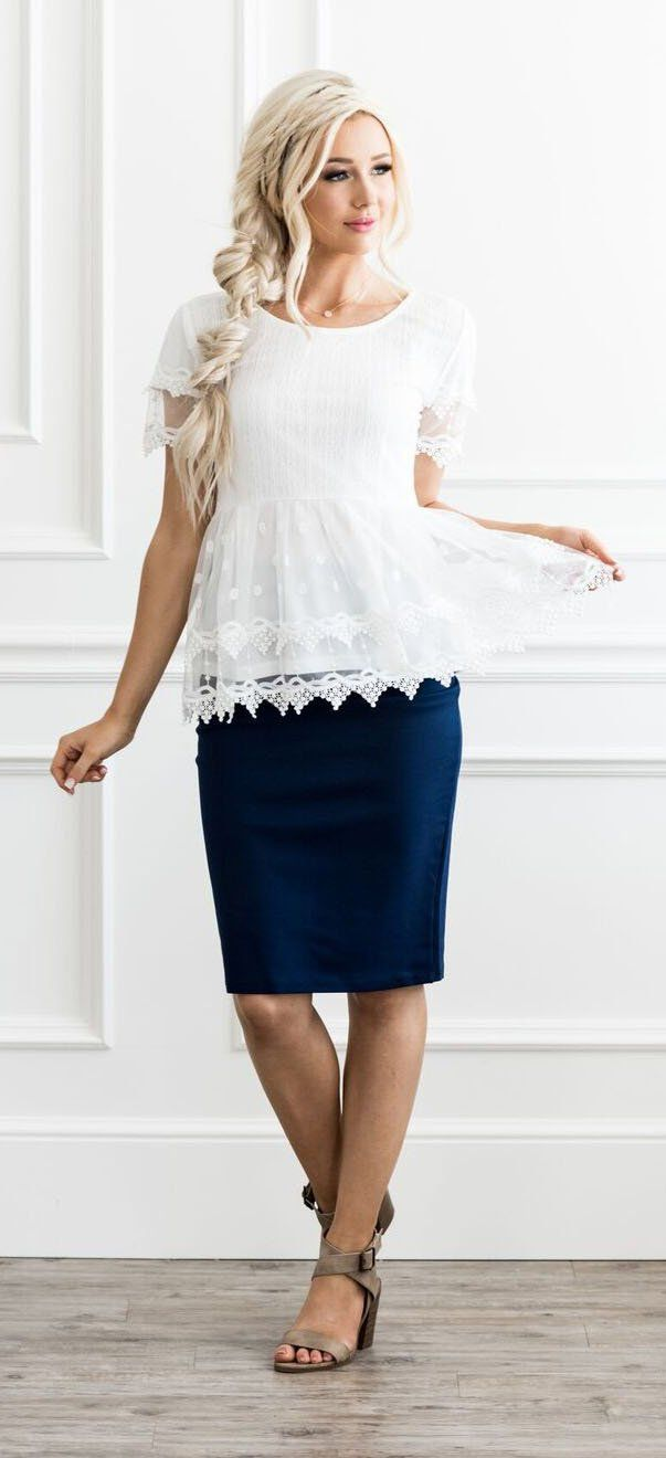 Tulle Top (White)