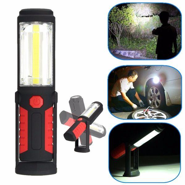 Super Bright COB <b>LED Camping</b> Work Inspection Light Hand Torch ...