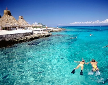 Cozumel, Mexico. I have been here! the water is even prettier in person.