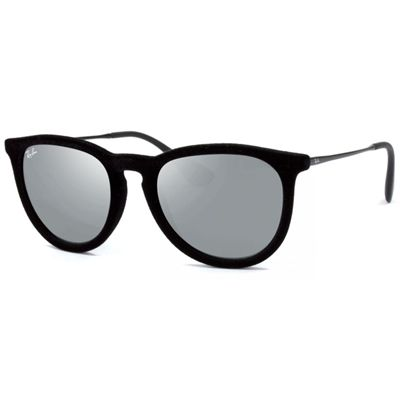 Óculos Ray Ban Erika de Sol Unissex Veludo Haste em Metal - RB417160756G