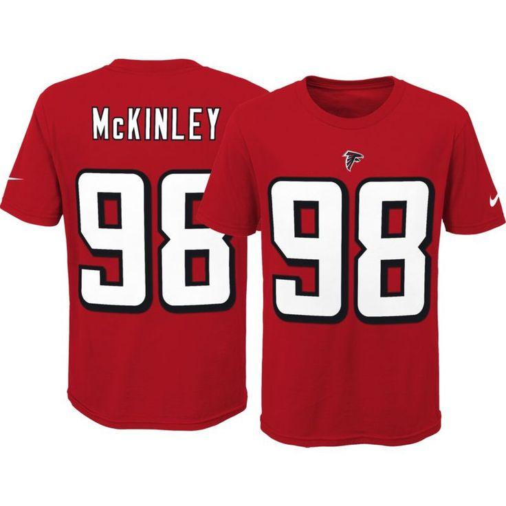 Nike Youth Atlanta Takkarist McKinley #98 Pride Red T-Shirt, Size: Medium, Team