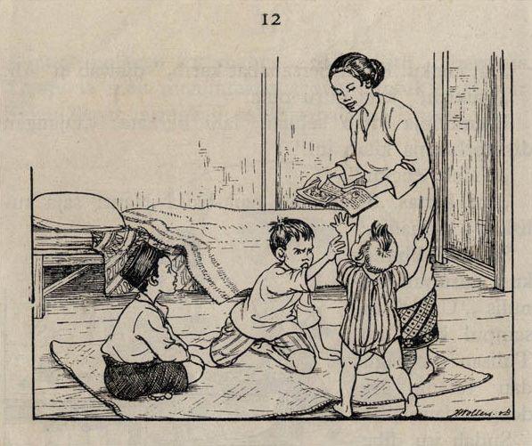 Rebutan - J.B. Wolters Illustration
