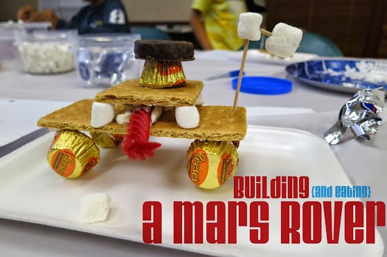 Summer Special: Edible Mars Rover : library makers