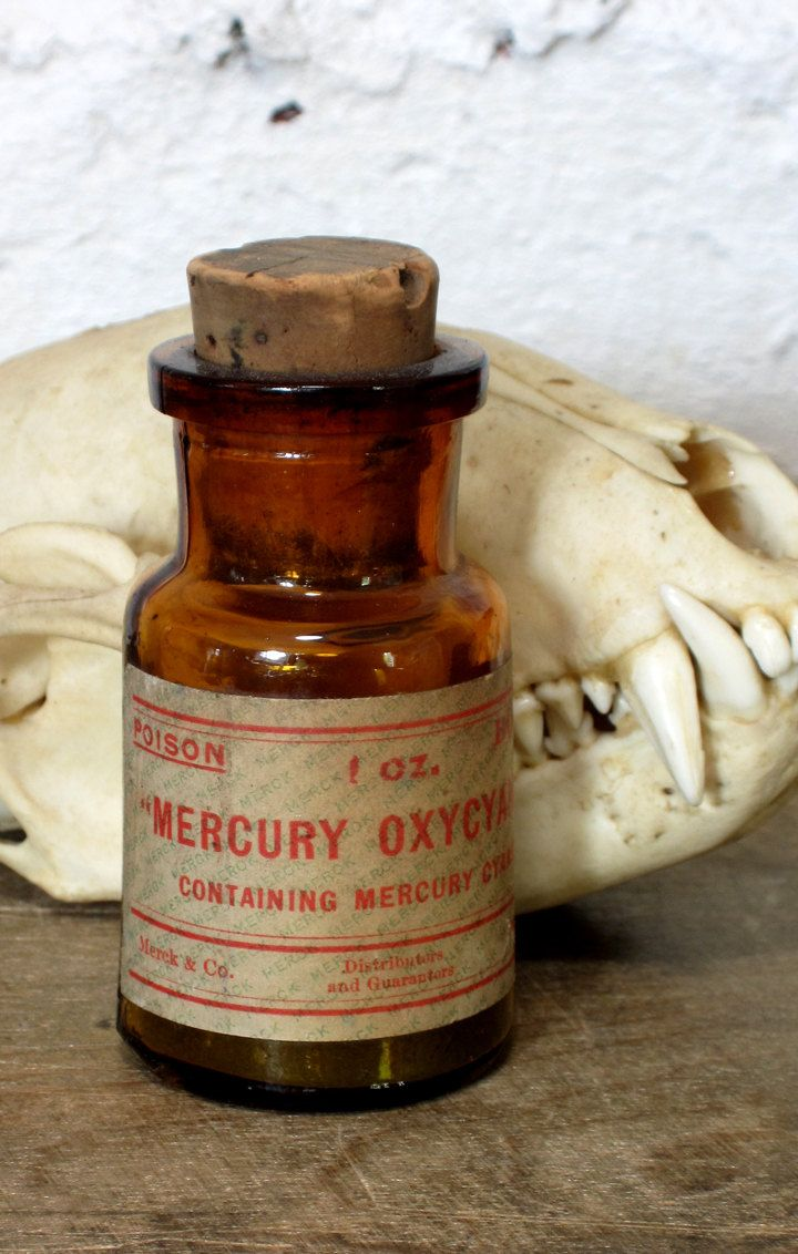 Vintage Antique Apothecary Pharmacy Bottle