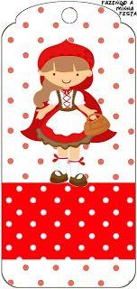 Kırmızı Başlıklı Kız Temalı Ücretsiz Parti Seti – Neşeli Süs Evim – Ücretsiz Doğum Günü Süsleri – Sevda
