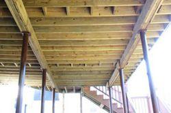 how to fix a steel bearer on steel posts
