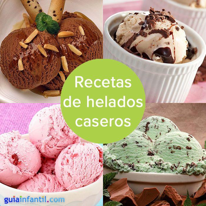 Recetas de helados caseros, ¡el postre más refrescante!