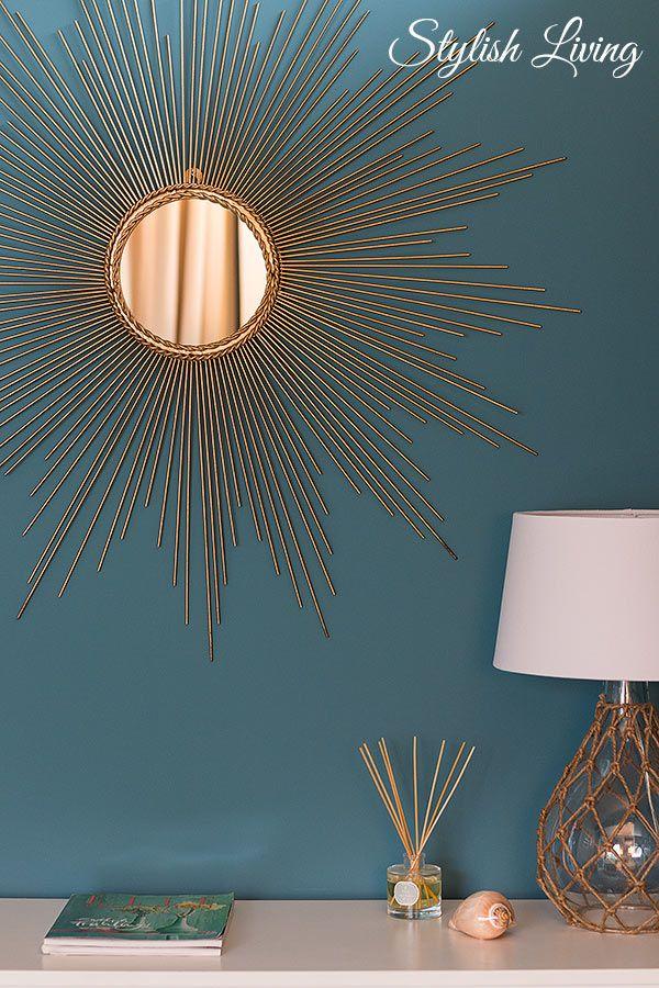 die besten 25 sonnenspiegel ideen auf pinterest handgemachte spiegel goldener sonnenspiegel. Black Bedroom Furniture Sets. Home Design Ideas