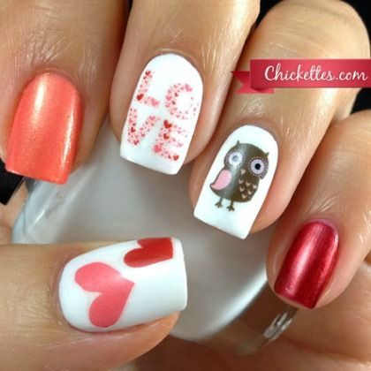 valentines nail art best 25 nail ideas on 13226