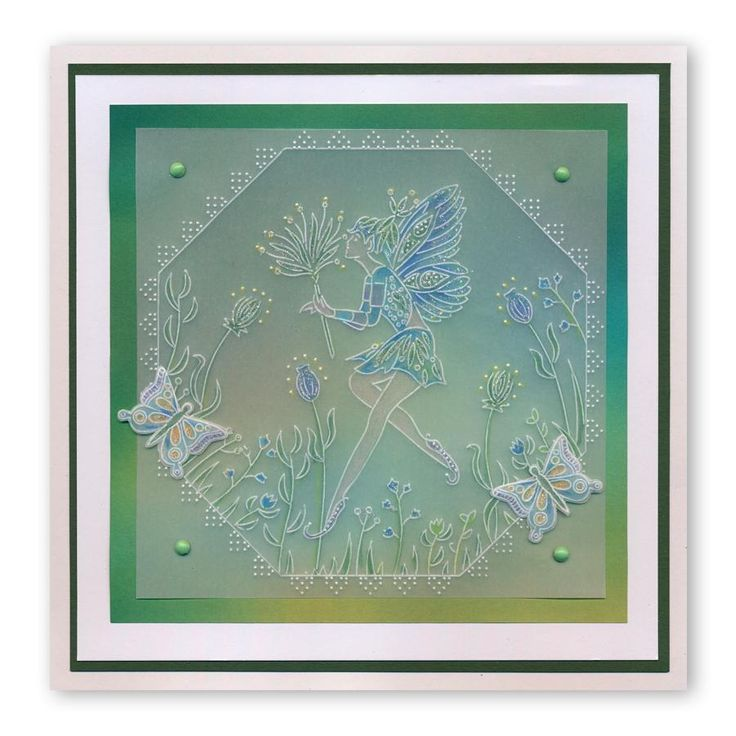 Fairies & Spacer A6 Groovi Plate Set – Claritystamp
