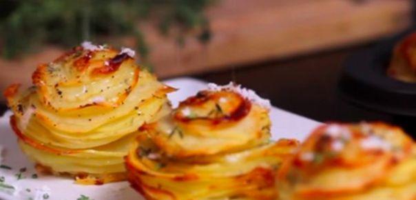 Hun skærer kartofler i skiver og finder muffinsformene frem - resultatet er fantastisk | Dagens.dk