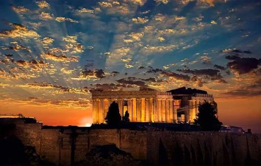 Partenon, Ateny Grecja
