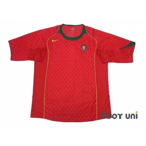 Photo1: Portugal Euro 2004 Home Shirt #nike - Football Shirts,Soccer Jerseys,Vintage Classic Retro - Online Store From Footuni Japan