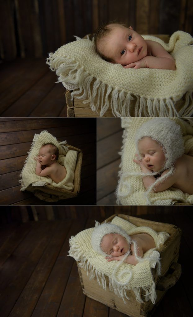 Newborn photoshoot. Newborn photography in studio by Swedish photographer Fotograf Maria Lindberg. www.fotografmarialindberg.se