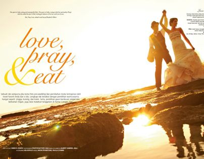 Love, Pray, & Eat. Location: Bali