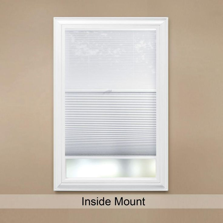Home Decorators Collection Snow Drift Shadow White Cordless Day And Night Blackout Cellular Shade 31 In W X 72 In L 10793478687886 The Home Depot Cellular Shades Blackout Cellular Shades Home Decorators Collection