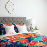 Juliana Curi Osaka Orange Duvet Cover   DENY Designs Home Accessories