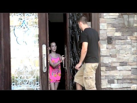 This Social Experiment Tested: Will Kids Let A Stranger Inside?