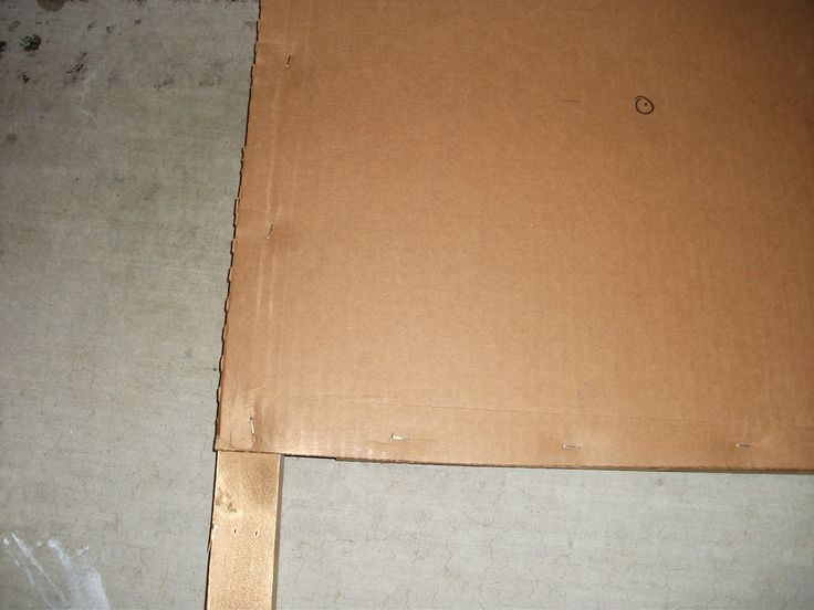 How to build a tufted cardboard headboard for under $10     After making several tufted headboards with plywood,...