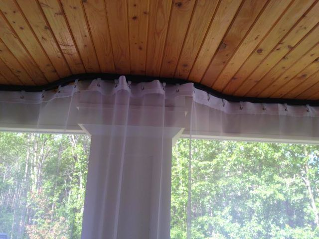 Outdoor Curtain Tracking Mosquito Curtains Mosquito Curtains