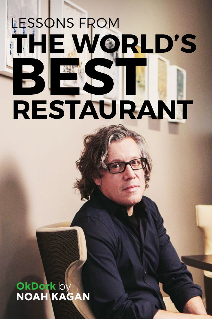 Lessons from the world's best restaurant #alinea