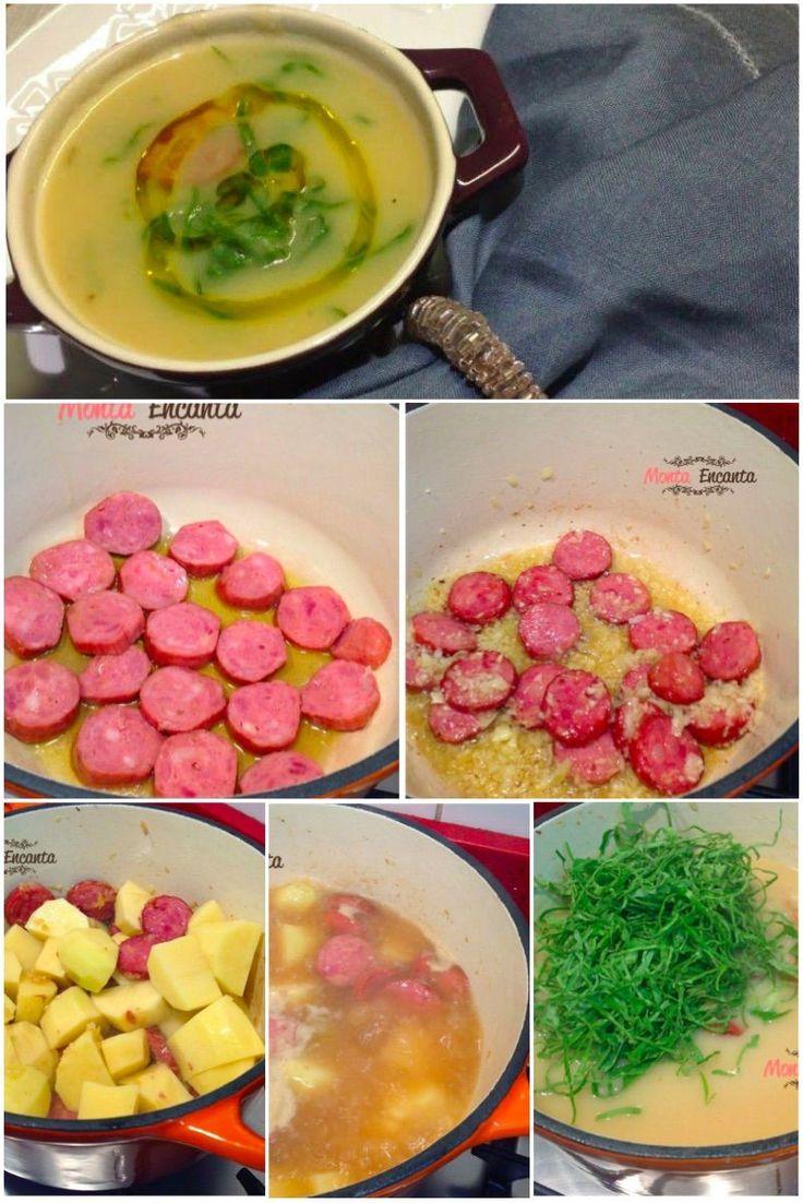 Como preparar Caldo verde tradicional.