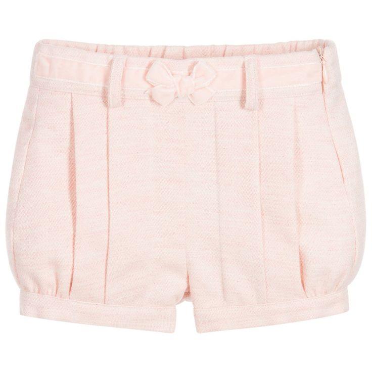 Patachou Girls Pink Bubble Shorts at Childrensalon.com