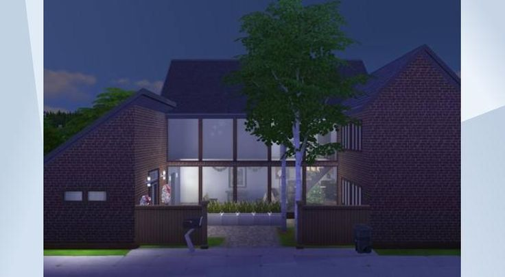 Check out this lot in The Sims 4 Gallery! - #furnished #family #garden #christmas #xmas